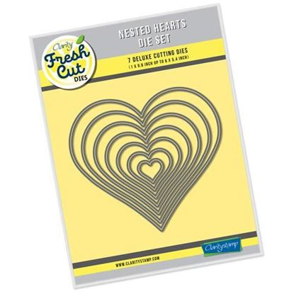 Nested Hearts Fresh Cut Die Set