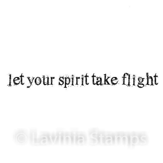 Lavinia Stamps - Let Your Spirit Take Flight