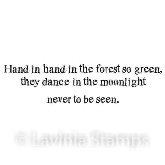 Lavinia Stamps  - Forest so Green