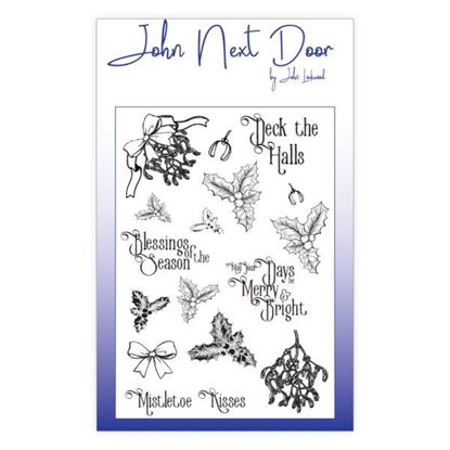 John Next Door Clear Stamp - Deck the Halls