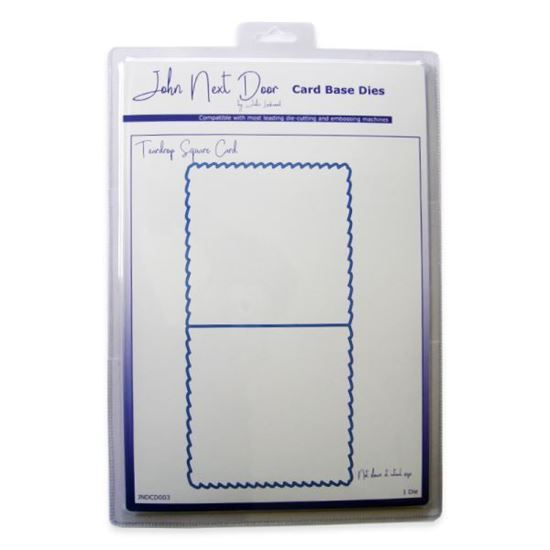 John Next Door Card Base Die - Teardrop Square