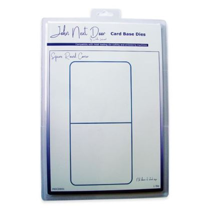 John Next Door Card Base Die - Square Rounded Corners