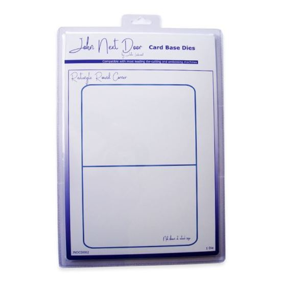 John Next Door Card Base Die - Rectangle Rounded Corners
