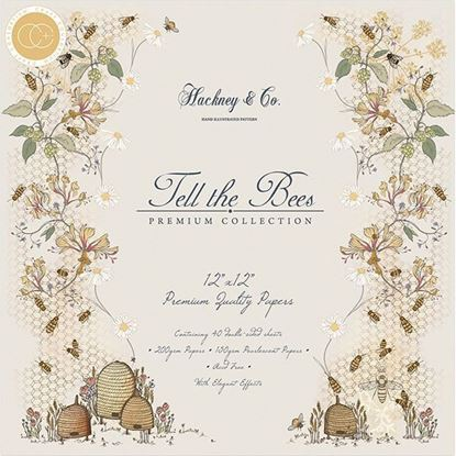 Craft Consortium Premium Pad - Tell the Bees