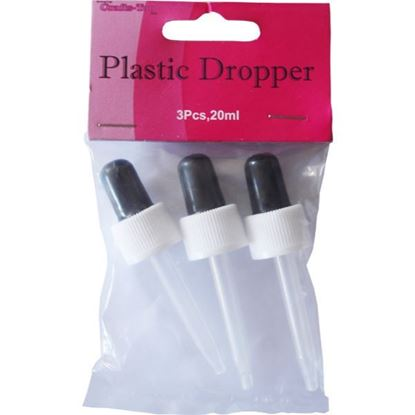 Crafts Too Plastic Droppers - 20ml