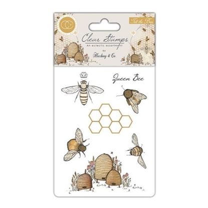 Craft Consortium Tell the Bees - A6 clear stamp set