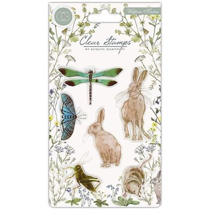 Craft Consortium Wildflower Meadow - A6 clear stamp set.