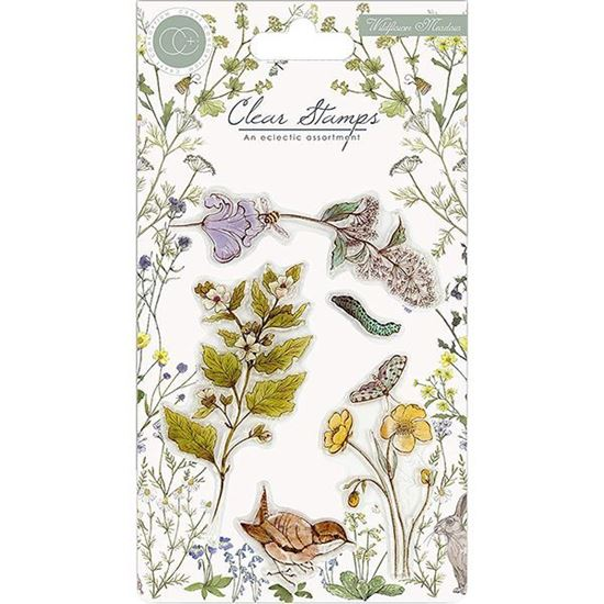 Craft Consortium Wildflower Meadow - Wild Flowers A6 clear stamp set.