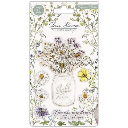 Craft Consortium Fresh Cut A6 Clear stamp Set - Wildflower Meadow