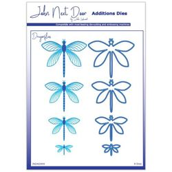 John Next Door Additions Dies - Dragonflies