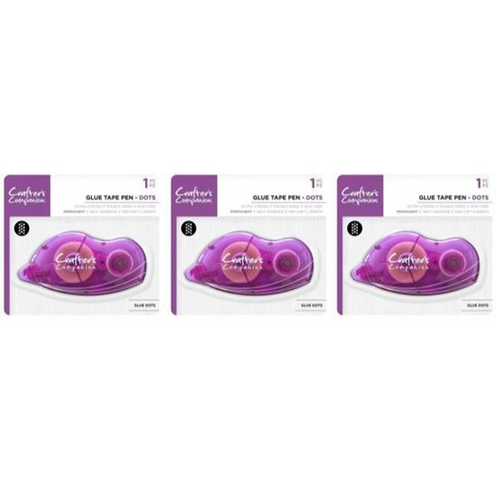 Crafters Companion Tape Pen (DOTS) 3 pk