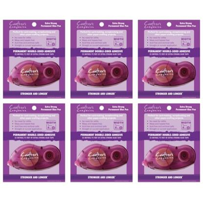 Crafters Companion Permanent Tape Pen 6pk