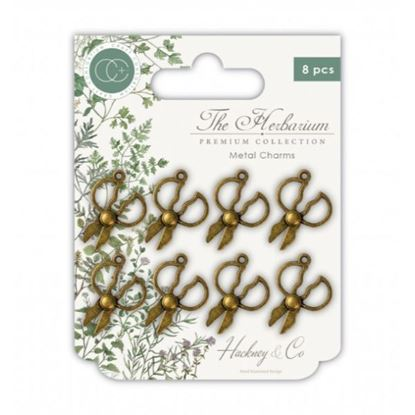 The Herbarium Metal Charms - Scissors