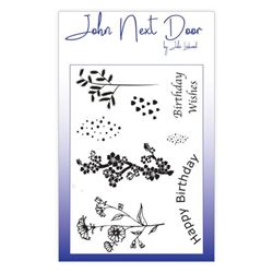 John Next Door Clear Stamp - Spring Flowers 8