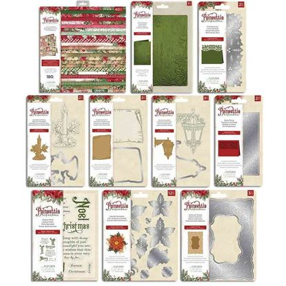 Picture of Crafters Companion Poinsettia Perfection Collection . Available individually
