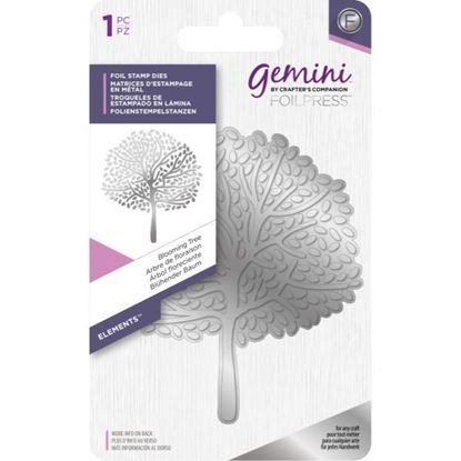 Gemini Foil Elements Stamp Die - Blooming Tree