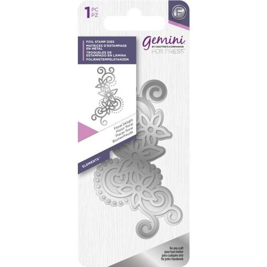Gemini Foil Elements Stamp Die - Floral Delights