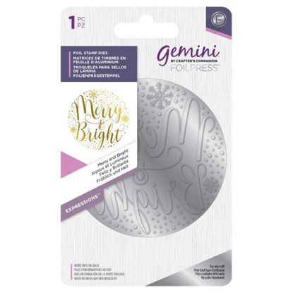 Gemini Foil Elements Stamp Die -  Merry & Bright