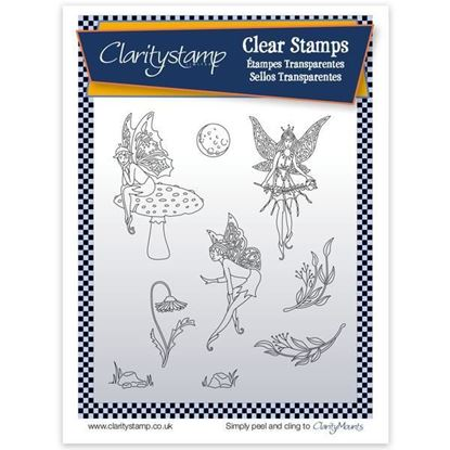 Clarity Unmounted Clear Stamp Set - Fairy 2