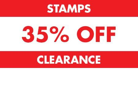 Picture for category Stamps 35% OFF