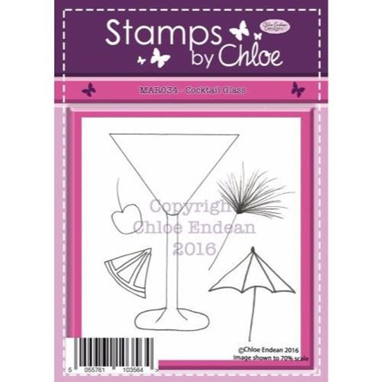 Stamps by Chloe - Cocktail Glass