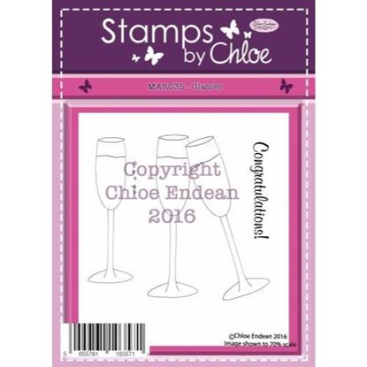 Stamps by Chloe - Glasses