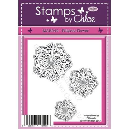 Stamps by Chloe - Filigree Flower