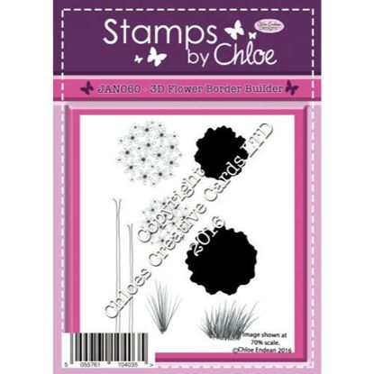 Stamps by Chloe - 3D Flower Border Builder
