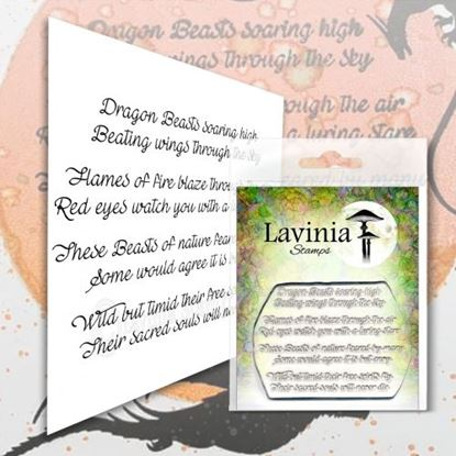 Lavinia Stamps  - Dragon Verse