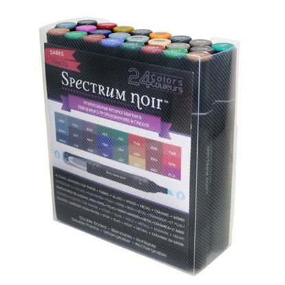 Spectrum Noir 24 Pens Set - Darks