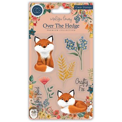 Over the Hedge A6 Clear Stamp Set - Henry the Fox