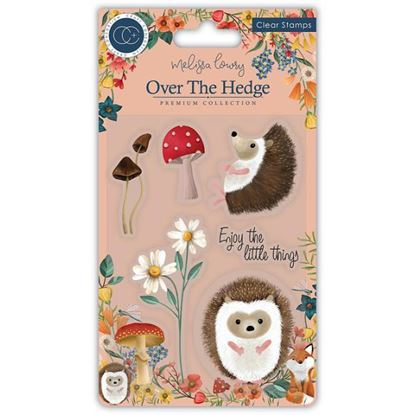 Over the Hedge A6 Clear Stamp Set - Harry the Hedgehog