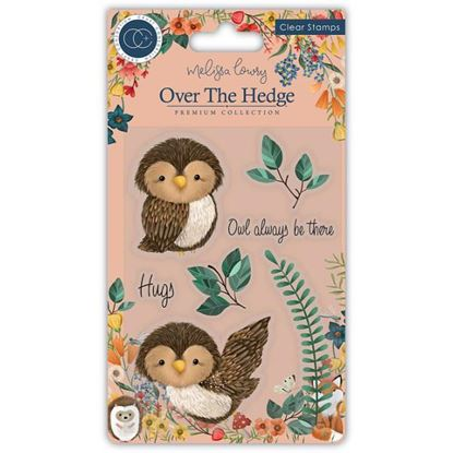 Over the Hedge A6 Clear Stamp Set - Olivia the Owl
