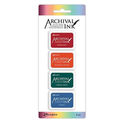 Archival Mini Ink Pad Kit 1