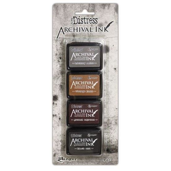 Distress Archival Mini Kit 3