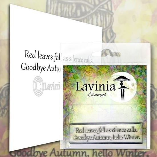 Lavinia Stamps  - Red Leaves