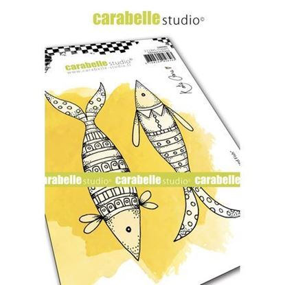 Carabelle Art Cling Stamps A6 - Well Dressed Fish.