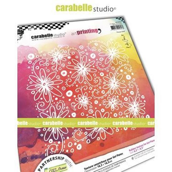 "Carabelle Art Printing 6"" Square - Flower Field"