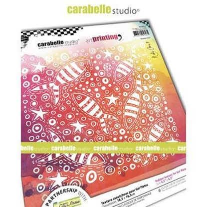 "Carabelle Art Printing 6"" Square - Bubble Fish"