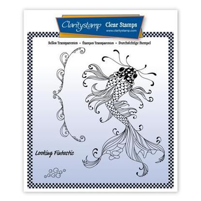 Cherry's Under the Sea A5 Stamp Set - Koi