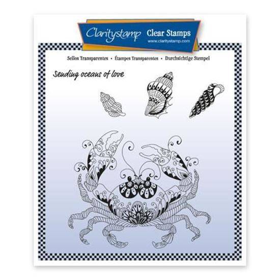 Cherry's Under the Sea A5 Stamp Set - Crab