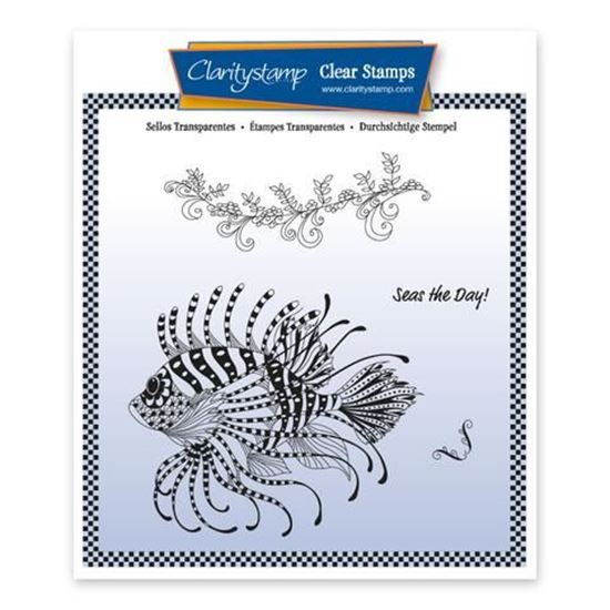 Cherry's Under the Sea A5 Stamp Set - Lion Fish