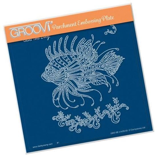 Cherry's Under the Sea - Lion Fish A5 Groovi Plate