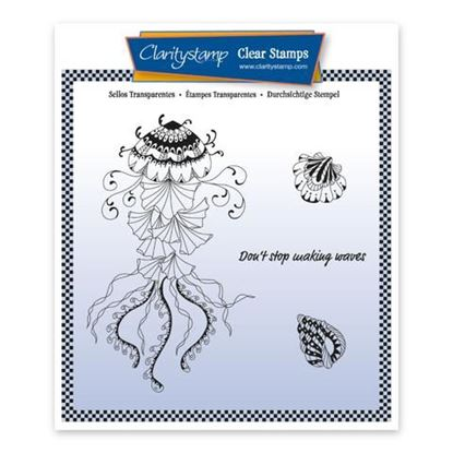 Cherry's Under the Sea A5 Stamp Set - Jelly Fish