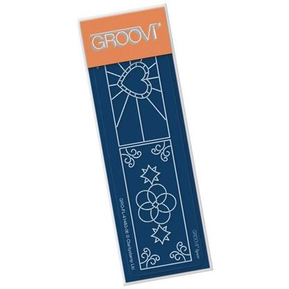 Groovi Spacer Plate - Stained Glass Window