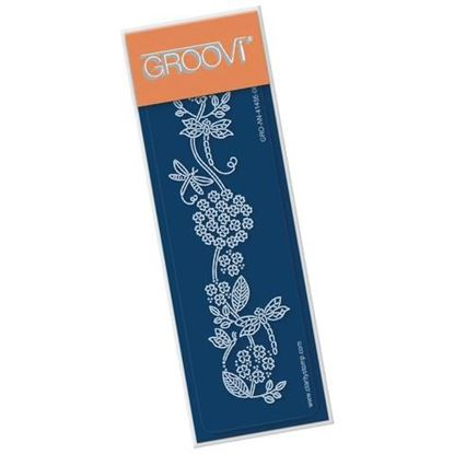 Groovi Spacer Plate - Dragonflies & Flourish