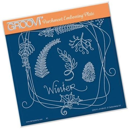Barbara's Entwined Wreath - Winter  Groovi
