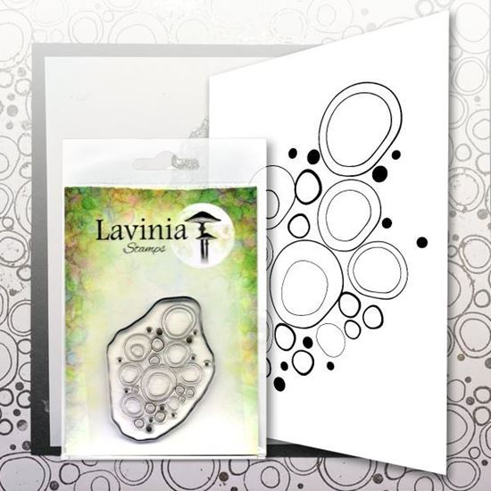 Lavinia Stamps  -  Blue Orbs