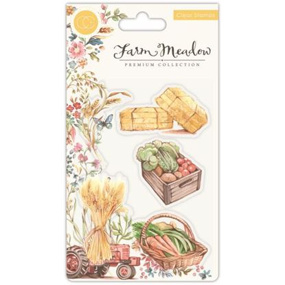 Farm Meadow A6 Clear Stamp Set - Pick of the Crop