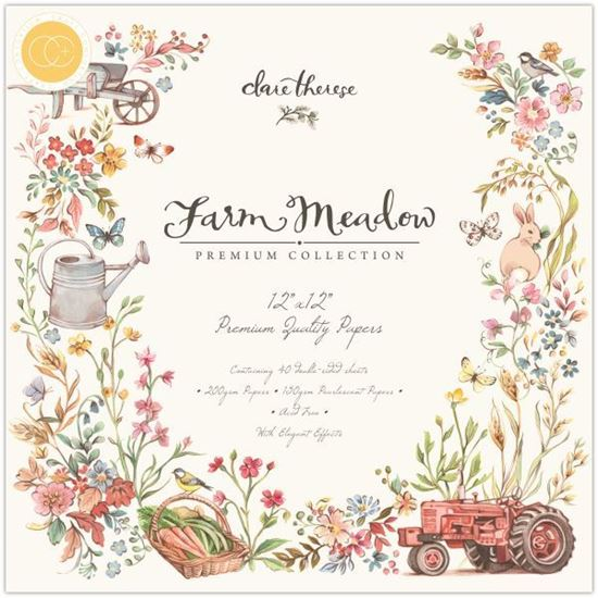 Craft Consortium Premium Pad - Farm Meadow